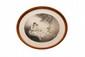 James Hardy Jeunes filles lisant. Gravure de forme ovale. Signée en bas à droite. H. : 49 cm. L. : 60 cm.