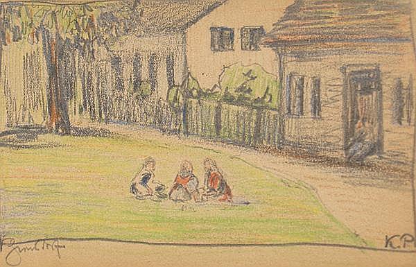 Pallmann, Kurt (1886 Berlin 1952) Sommerliche