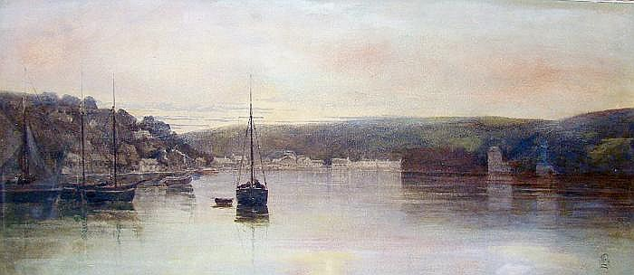 Pocock, Lexden Lewis (1850-1919) wohl Evening,