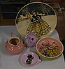 Martin Boyd plate, dish & jug together with a