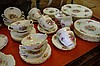 Coalport 'Fragrance' dinner set for 6 comprising