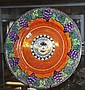 Maling lustre plate 28cm diameter