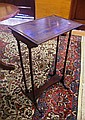 Edwardian side table in the Georgian style, 43cm x