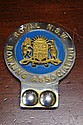 Royal NSW Bowling Association car badge 11.5cm
