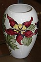 Moorcroft aqualegias vase height approx 19cm.