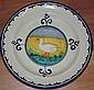 Large Italian Corso De' Fiori platter