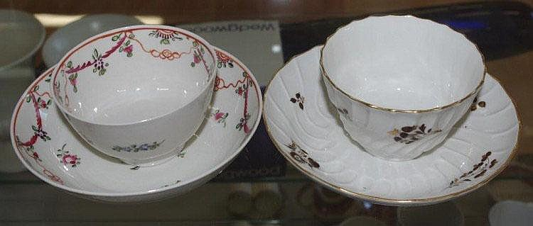 Barr Worcester tea bowl and saucer C:1810 together