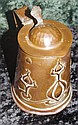 Copper Art Nouveau tankard