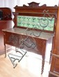Edwardian washstand with 14 art nouveau tiles