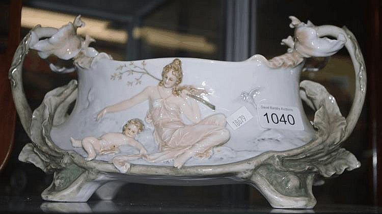 German float bowl Approx 30cm by 16cm