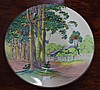 Royal Doulton cabinet plate with Australian Scene