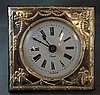 Sterling silver table clock hallmarked London