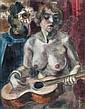 Henri LE FAUCONNIER (1881-1946) : MODELE A LA, Henri Le Fauconnier, Click for value