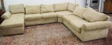 4 PIECE SECTIONAL SOFA BY POTTERY BARN.