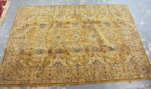 ORIENTAL RUG. 5 FT 8 INCHES X 8 FT 7 INCHES.