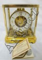 LE COULTRE ATMOS CLOCK; 9 1/4 IN H