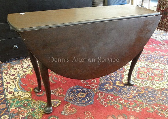 QUEEN ANN NARROW DROP LEAF TABLE