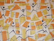 Friday July 25th 11am EST OUTSTANDING Vintage Fabric Sale Featuring Midcentury Modern Designs