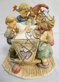 LARGE HUMMEL FIGURE GROUP, *ROCK-A-BYE*; 7 1/2 IN