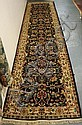 2 FT 7 IN X 11 FT 7 IN ORIENTAL RUNNER; VERY DARK