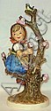 HUMMEL FIGURE; 141/V; APPLE TREE GIRL; MINUTE PIN
