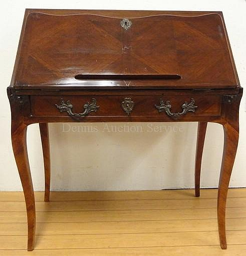 LOUIS XV AMARANTH AND ACAJOU BUREAU DE DAME 18TH
