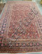 11 FT X 17 FT 6 IN RED ORIENTAL RUG