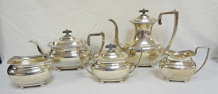 5 PC INTERNATIONAL STERLING SILVER TEA & COFFEE