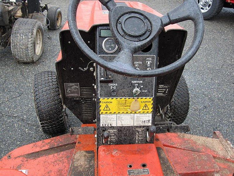 POWER KING 1620 Hydrostatic Kohler Mag20 Engine, 1,077 Hours with PTO and 3 Point Hitch