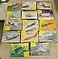 LOT (17) SMALL SCALE HELLER CADET AIRCRAFT KITS