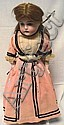 KESTNER TURNED HEAD GERMAN BISQUE DOLL; 18 1/2 IN,