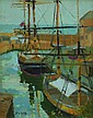 Eric Ward Autumn at Charlestown Oil on board 26 x