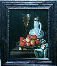 Dutch School 17th Century, Still life with a wine
