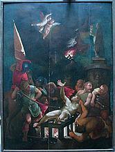 European School 17th Century, Allegorical scene,