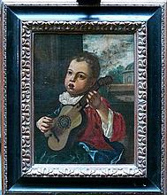 Mercurio Amorosi (1660-1738), Young Guitar Player