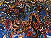 JOHN OLSEN born 1928, SYDNEY NIGHTS, 1965, oil on canvas