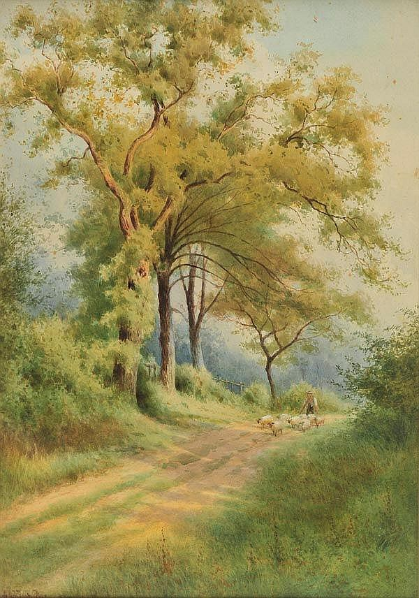* Box (Alfred Ashdown, fl. 1879-1927). A lane in