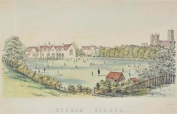 * Cricket. Durham School, n.d., c.1860, hand