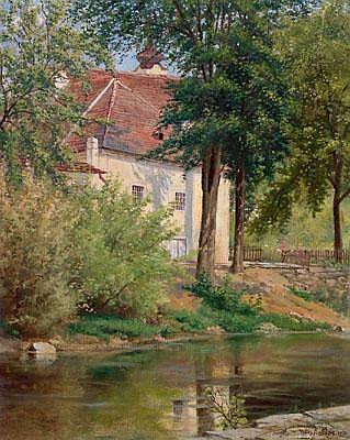 Wilhelm Ambros (Vienna 1868-1925 Horn) At the