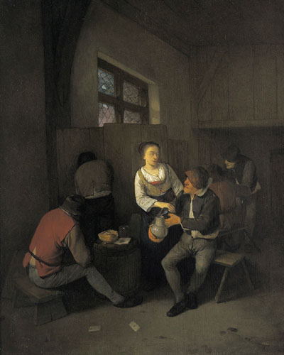 Cornelis Pietersz. Bega (Haarlem 1631 - 1664)