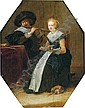 Dirck Hals (Haarlem 1591-1656) Musizierendes, Dirk Hals, Click for value