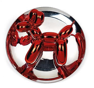 Jeff Koons (born York, Pennsylvania in 1955)