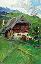 Herbert Gurschner (Innsbruck 1901-1975 London, study on  Opening Price: E500 EURO
