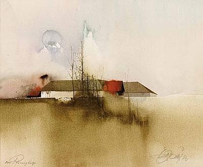 Ernst Balluf * (Linz 1921 geb.) Betitelt