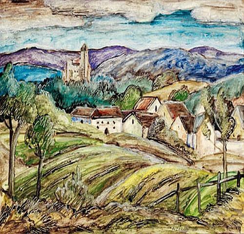 Franz von Zülow(Vienna 1883-1963) Liechtenstein