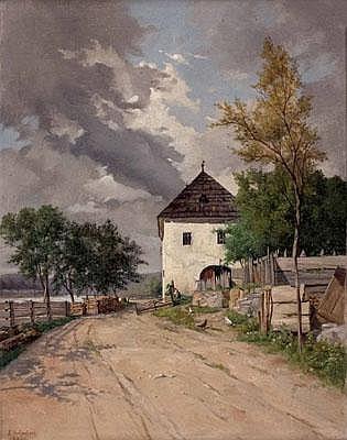 Wilhelm AMBROS(Wien 1868 - 1925 Horn/NÖ)