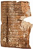 Manuscripts.- - substantial fragments of 4 ff.,