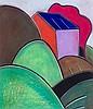 Albert Louden (b.1942) - Landscape III, c.1991