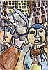 Albert Louden (b.1942) - Three Figures