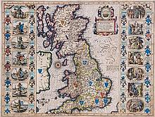 Speed (John) - Britain As It Was Devided in the Tyme of the Englishe Saxons Especially During Their Heptarchy,